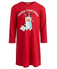 Matching Family Pajamas Kids Happy Pawlidays Sleep Shirt, Created for Macy's
