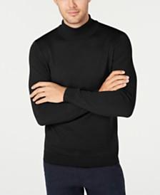 Tasso Elba Men's Merino Turtleneck Sweater, Created for Macy's