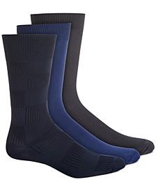 Men's 3-Pk. Microfiber Socks