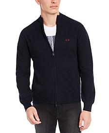 Men's Zip-Front Cardigan