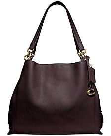 Polished Pebble Leather Dalton 31 Shoulder Bag