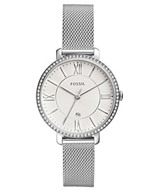 Women's Jacqueline Stainless Steel Mesh Bracelet Watch 36mm