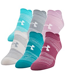6-Pk. Essential No-Show Socks