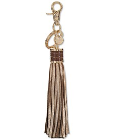 Leather Glimmer Tassel