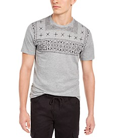 Men's Top-Pattern T-Shirt, Created for Macy's