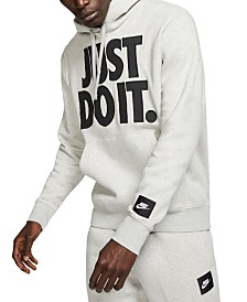 Nike Men's Sportswear Just Do It Fleece Hoodie