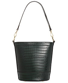 INC Kaiah Croco Bucket Bag, Created for Macy's