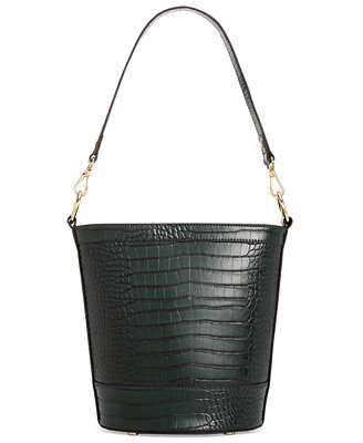Inc Kaiah Croco Bucket Bag, Created For Macy's by General