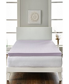 "Loftworks 2"" Lavender Infused Deep Sleep Therapy Extra Soft Mattress Foam Topper Collection"