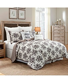 Lyla 3 Piece King Quilt Set