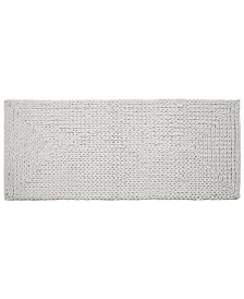 """Affinity Linens Braided Chenille Oversized Cotton 22"""" x 60"""" Bath Rug"""