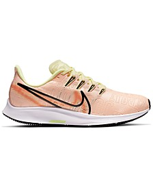 Women's Air Zoom Pegasus 36 Premium Running Sneakers from Finish Line