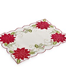 "Kori Holiday Cutwork 13"" x 19"" Placemat"