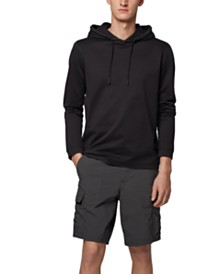 BOSS Men's Relaxed-Fit Hooded T-Shirt