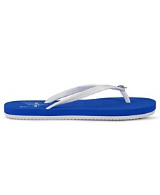 Guy Harvey Women's Cabana Turtle Flip-Flop Sandals