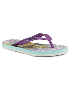 Guy Harvey Women's Cayman Clownfish Flip-Flop Sandals