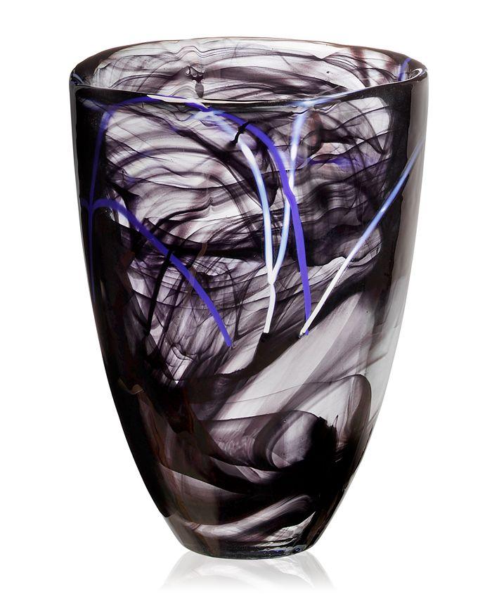 Kosta Boda - Contrast Orange Vase