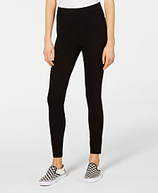 Celebrity Pink Juniors' High-Rise Skinny Ponte Pants