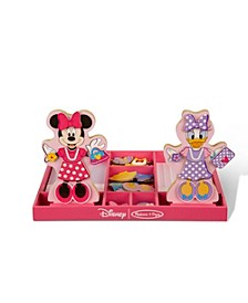 Minnie & Daisy Wooden Magnetic Dress-Up