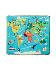 Round the World Travel Rug Playmat