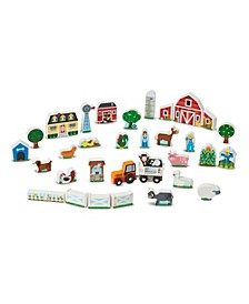 Wooden Farm  Tractor Play
