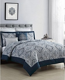 Yorkshire Jacquard 7-Pc. King Comforter Set