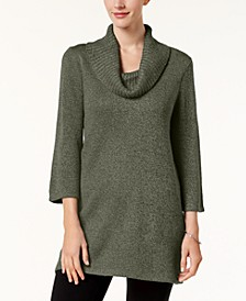Thick and Thin Cowlneck Tunic, Created for Macy's