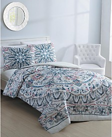 Via 3-Pc. Full/Queen Duvet Cover Set