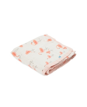 Little Unicorn Pink Ladies Deluxe Muslin Quilt