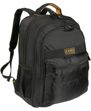 A. Saks Expandable Laptop Backpack