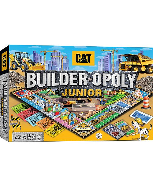 MasterPieces Puzzle Company Masterpieces Cat Opoly Jr Game