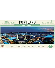 Masterpieces Portland 1000 Piece Panoramic Puzzle