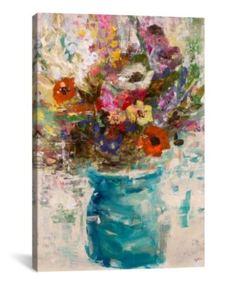 Vase Study by Julian Spencer Wrapped Canvas Print - 60
