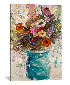 Vase Study by Julian Spencer Wrapped Canvas Print Collection