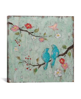 Love Birds I by Katy Frances Wrapped Canvas Print - 37