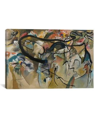 """Composition V by Wassily Kandinsky Wrapped Canvas Print - 40"""" x 60"""""""
