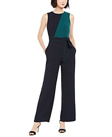 Sleeveless Colorblocked Jumpsuit