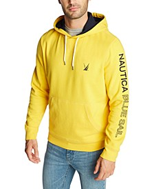 Men's Blue Sail Active Knit Hoodie, Created for Macy's