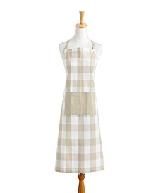 Farmhouse Living Buffalo Check Kitchen Apron with Pocket