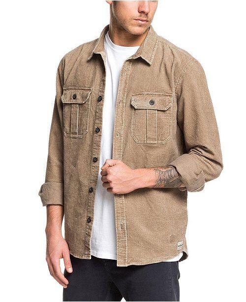 Quiksilver Men's Sara Toga Long Sleeve Shirt