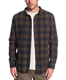 Quiksilver Men's Inca Gold Check Shirt