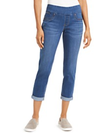 Style & Co Rolled-Hem Pull-On Jeans, Created for Macy's
