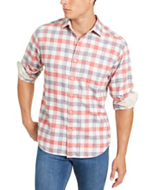 Tommy Bahama Men's Canyon Beach Plaid Shirt