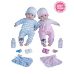 """Berenguer Boutique Twins 15"""" Soft Body Baby Doll"""