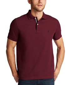 Nautica Men's Slim-Fit Deck Solid Polo Shirt