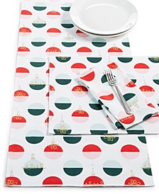 Colorblock Table Linen Collection