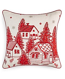"Village 18"" x 18"" Decorative Pillow, Created for Macy's"