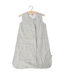 Grey Stripe Sleep Bag - Size Small