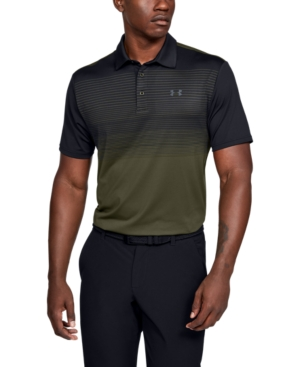 Under Armour Tops MEN'S STRIPED PLAYOFF POLO