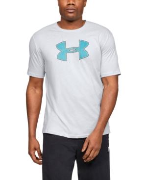 Under Armour Men's Big-Logo T-Shirt In 014 Halo G